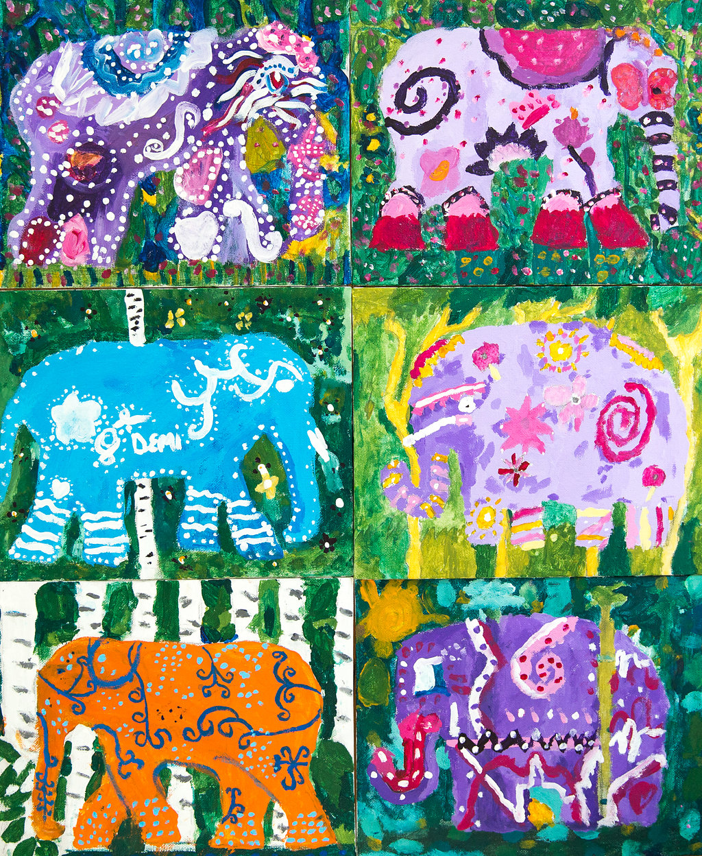 Elephant Project by Year 5 and Year 6 - St Peter's CE Primary School Herts