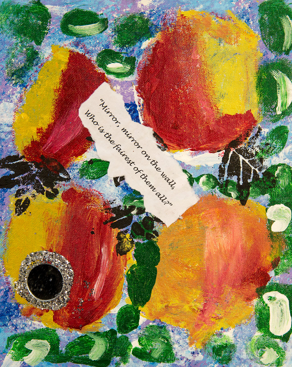 Mixed Media inspired by Snow White by Year 1 - Yeading Infant and Nursery School Hillingdon